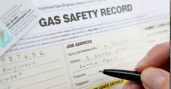 land lord gas safety certificates Nottingham city centre